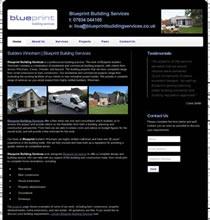 Web design stoke on trent web site designer stoke on trent web design stoke on trent blueprint building services website design staffordshire malvernweather Gallery