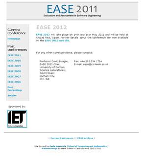 Web design stoke on trent web design portfolio firecrest web design stoke portfolio ease conference website malvernweather Images